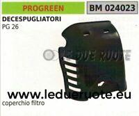 COPERCHIO cassa FILTRO ARIA DECESPUGLIATORE PROGREEN GREENCUT PG 26 65x55x14