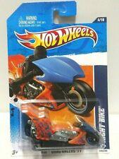 2011 Hot Wheels Drag Racers Fright Bike Orange 124/244