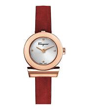 Reloj con correa de Gancino Salvatore Ferragamo Para Mujer SFPD 00519