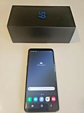 Samsung Galaxy S9 64GB  BLACK SMARTPHONE Cell Phone Android