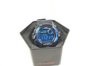 Casio Men's Watch G-Shock Blue Digital Dial Black Resin Strap G-8900A-1DR