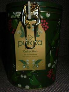 Pukka Festive Collection - Tea Caddy  - 30 Tea Bags - New, Pristine. 1st class.