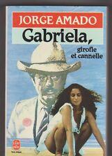 Jorge Amado - Gabriela, girofle et cannelle.G.Boisvert..Mastroianni + Braga
