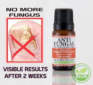 Wild Oregano Oil ANTI-FUNGAL Toenail Fungus Athlete's foot Nail Treatment Fungi