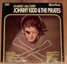 Johnny Kidd And The Pirates Shakin' All Over Vinyl LP 33rpm Starline SRS5100