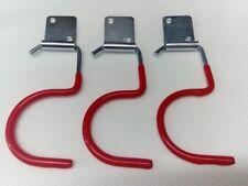 9 x Gerätehalter Haken Wandhaken Haken für Werkzeug Hammer Beil Gartengeräte