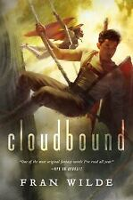Cloudbound by Fran Wilde Hardcover with Dust Cover Book Free Shipping!