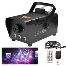 13 farben Nebelmaschine DJ Party Fog Rauchmaschine Fogger Nebelgerät Halloween