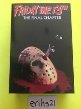 """ULTIMATE JASON VOORHEES NECA Friday The 13th PART 4 FINAL CHAPTER 7"""" IN. FIGURE"""