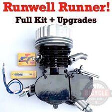 RunWell *Runner* - Full Kit + Upgrades! Real Pk80 Motorized Bike 66cc 80cc