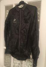 Mens Le Coq Sportif Performance Windproof Cycling Jacket - Black Medium *BNWT*