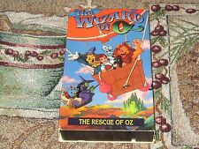 THE WIZARD OF OZ~RESCUE OF EMERALD CITY~PARTS 1 & 2 VHS VIDEO TAPE FREE U S SHIP