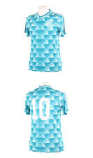 Allemagne Deutschland Italia 90 MATTHAUS 10 Away Replica Football Shirt Small S