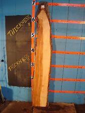"# 9231 2 1/8"" Thick white ash Live Edge Slab lumber Kiln Dried"