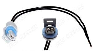 IAT Sensor Connector Pigtail 1985-2005 GM Intake Air Temperature Sensor Black -B
