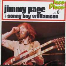 Jimmy Page + Sonny Boy Williamson - Faces And Pla Vinyl Schallplatte - 42480