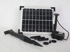 5 Watt 210l/h Solar Tauch Pumpe Teichpumpe Set Gartenteich Garten Springbrunnen
