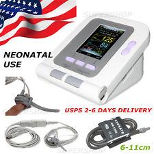 USA Digital Blood pressure monitor NEONATAL Cuff+spo2 probe+PC Software,CE FDA