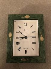 Galassia Framed Tennis Themed Clock, Nwob