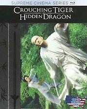 Crouching Tiger, Hidden Dragon (Blu-ray Disc + Digital Hd + 24 Page Book) New!