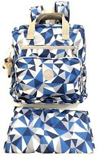 Kipling Diaper Backpack Baby Bag Audrie Blocking Jay Overnight Changing Pad Blue