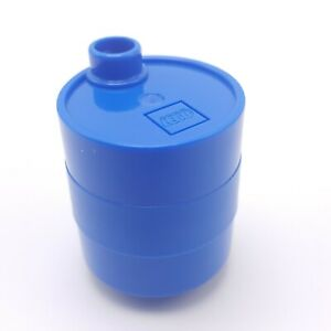 Lego Duplo Blue Container Oil Drum Barrel Replacement Piece Maters Yard Cars