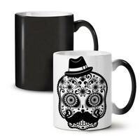 Skeleton Cool NEW Colour Changing Tea Coffee Mug 11 oz | Wellcoda