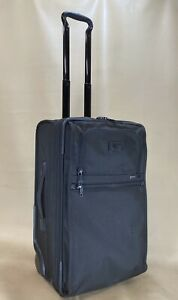 """Used TUMI Frequent Traveler Expandable 22"""" Upright Carry-On 22022DH Black $595"""