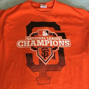 SF Giants 2012 National League Champs t-shirt Medium - great condition!