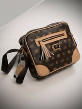 Trendy Messenger Bag in Coffee Coloured Design by LYDC 288