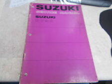 OEM Suzuki Service Manual 1976 RV90 SR-2710