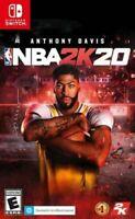NBA 2K20 Nintendo Switch Brand New Sealed