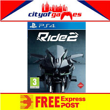 Ride 2 PS4 New & Sealed Free Express Post In Stock