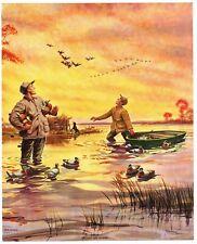 "James Meger /""Risky Business/"" Goldeneye Duck Hunting Print Signed Printers Proof"