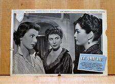 LE AMICHE fotobusta poster Antonioni Eleonora Rossi Drago Ferzetti Manni A25