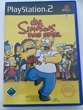 Ps 2 Jeu-Les simpson-le jeu