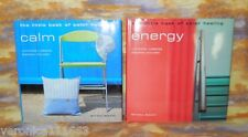 Little Books of Color Healing Red Energy and Blue Calm NEW HC DJ Color photos