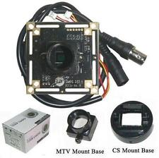 "Sunvision 900TVL 1/3"" HD CMOS CCTV Board Camera + M12 & CS Base Mounts (BC09A)"