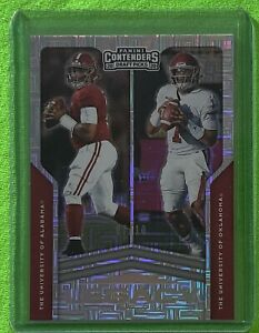 2020 Contenders Draft Jalen Hurts ROOKIE Legacy Insert BUILDING BLOCKS 07/10