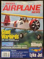 Model Airplane News Magazine November 1997 Giant Warbirds R/C Modeling Lyka Jet
