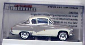DDR-PKW Wartburg 311 Coupe, grau / weiß für H0 (A-1287)