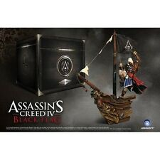 Assassins Creed 4 IV Captain Kenway Jackdaw  Figure With Rare Black Chest Box