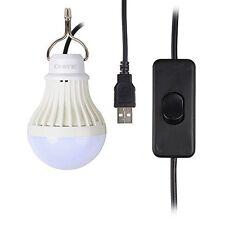 Onite USB LED Light for Camping, Children Bed Lamp, Portable USB LED Bulb, Emerg