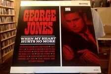 George Jones When My Heart Hurts No More LP sealed vinyl