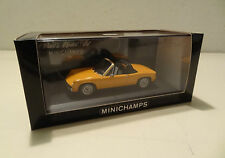 Porsche 914 - 1969 bis 1973 orange - Minichamps 1:43!