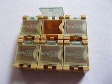 50 pcs DIY SMD SMT Electronic Component Mini box Yellow Color