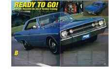 1968 DODGE DART 360 MAGNUM CRATE ENGINE  ~  GREAT 3-PAGE ARTICLE / AD