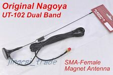 Original NAGOYA UT-102 SMA-Female DUAL BAND Antenna KENWOOD PUXING BAOFENG Radio