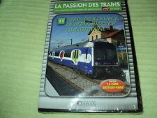 Dvd nf LA PASSION DES TRAINS VOL 11 - T. DE BANLIEUE, LA PERFORMANCE QUOTIDIENNE