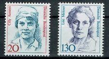 Bund MiNR 1365 + 1366 Freimarken Frauen der deutschen Geschichte postfrisch **